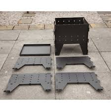 Firepit Grille by Made O U0027 Metal Flat Pack Foldable Brazier Garden Firepit Cooking