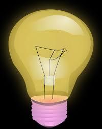 free vector graphic bulb light shining electric bulb free