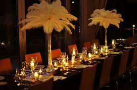 Great Gatsby Themed Party Decorations