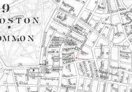 Old Boston Map by File 1886 Globe Theatre Boston Map Bybromley Bpl 12259 Detail 2