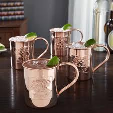moscow mule mugs kick moscow mule mugs 18oz set of 4