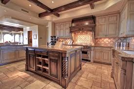Distressed Kitchen Cabinets Distressed Wood Kitchen Cabinets Hd9b13 Tjihome