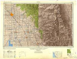 Fresno State Parking Map by Maps Golden Trout Wilderness