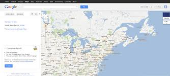 Map Usa And Canada by Google Maps Geomagnetic Storms High Winds Flooding Wave Heights 25