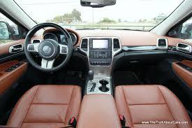 jeep grand cherokee dashboard 2013 jeep grand cherokee overland summit interior stitched