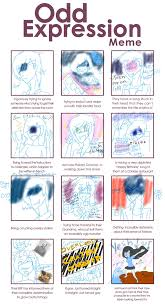 Expressions Meme - odd expressions meme by mico g on deviantart