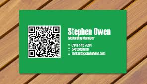 Business Card With Qr Code The Secret Of Qr Codes Overnightprints Blog