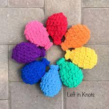 water balloons crochet water balloons left in knots