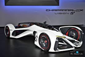 chevrolet car logo the chevrolet chaparral 2x vision gran turismo defies science