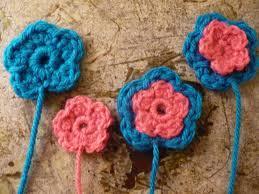 Tiny Flower Crochet Pattern - crochet flower free pattern swim wear crochet patterns