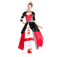 queen halloween costumes adults popular queen of hearts halloween costume buy cheap queen of