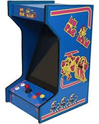 amazon com tabletop bartop arcade machine with 412 games toys