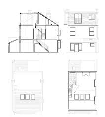 terraced house loft conversion floor plan 1920s 1930s terrace south london lofts