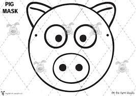 pet on the farm masks b u0026w premium printable classroom