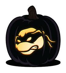 ninja turtle orange black pumpkins lol black