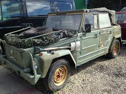 1974 volkswagen thing volkswagen 181 thing trekker military army car no splitscreen