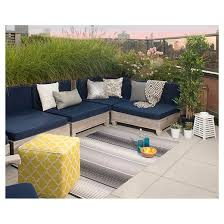 Grey And White Outdoor Rug with Fab Habitat Berlin Outdoor Rug Gray U0026 White Target