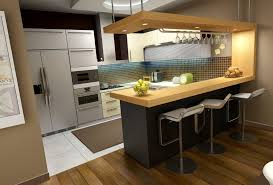 Breakfast Bar Designs Small Kitchens Small Kitchen Design With Breakfast Bar Kitchen And Decor