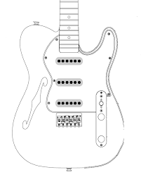 telecaster template 28 images tele guitar templates for crafts