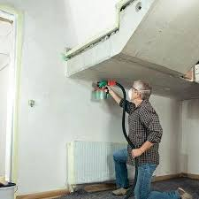 can you use a paint sprayer to paint kitchen cabinets home dzine home diy how to spray paint interior walls and