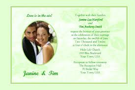 Sample Of Wedding Invitation Card In English Sample Of A Wedding Invitation Thebridgesummit Co