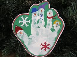 handprint ornaments search deck the halls