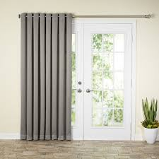 Patio Door Curtains Grommet Patio Door Curtains Handballtunisie Org