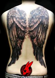 Wing Back Tattoos For - 60 holy designs designs
