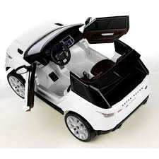 land rover kid licensed range rover sport 2 seater 12v electric ride on car white
