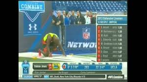 datone jones bench presses and runs the 40 at the nfl combine
