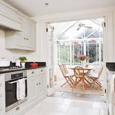 kitchen conservatory ideas probably cheaper current kitchen becomes utility entry dining