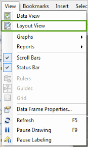 get layout from view finish and print the map get started with arcmap arcgis