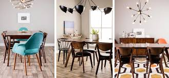 modern dining room ideas trend alert mid century modern furniture and decor ideas