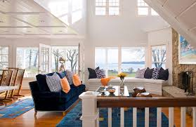 High Window Seat - magnificent blue couches living rooms interesting ideas with capiz
