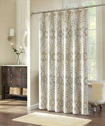 appealing white ruffled shower curtain ideas bathroom shower