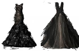 black dresses wedding the black wedding dresses khaleejesque