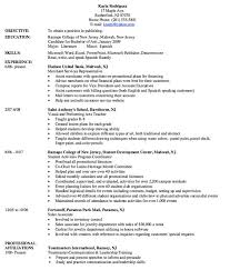 Resume Service Nj Financial Services Industry Resume Sample Essay Singlespaced Pay