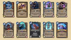 Decks Hearthstone July 2017 by Hearthstone Knights Of The Frozen Throne 52 Of The 135 New Cards