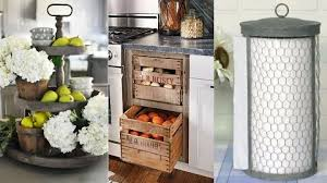diy painted rustic kitchen cabinets diy farmhouse kitchen decor ideas 31 rustic crafts