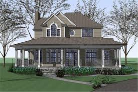 country style house with wrap around porch country house plan 3 bedrms 2 5 baths 2543 sq ft 117 1042