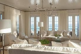 Coastal Living Dining Room Furniture Ivory Coastal Living Room With French Doors Cottage Living Room