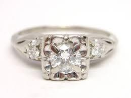 antique diamond engagement rings vintage white gold engagement rings wedding promise diamond