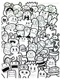 doodle art coloring pages wallpaper download cucumberpress com