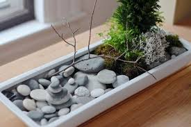 Tabletop Rock Garden Diy Tabletop Zen Garden Ideas Elements Mini Rock Garden Moss