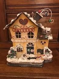 home interiors votive candle holders votive candle holder gingerbread house metal home interiors