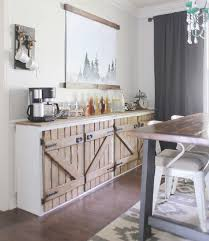 Barn Door Cabinets Beautiful And Clever Uses For Barn Doors In Your Home