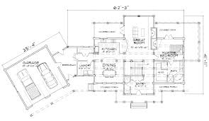 Home Floor Plan by Ashland Hybrid Log And Timber Home Floor Plan
