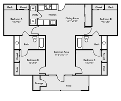 pricing and floor plans university village university housing