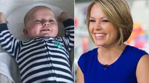 dylan dryer hair dylan dreyer s baby boy calvin wakes up with a big smile in
