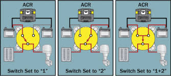 adding a secondary battery battery switch and automatic charging